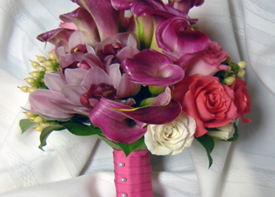 wedding flower bouquets roses