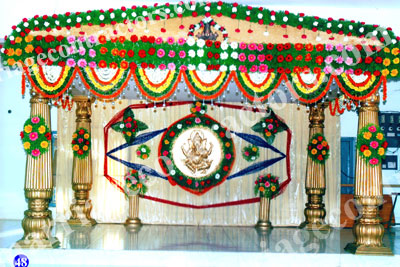 wedding stage designes in india