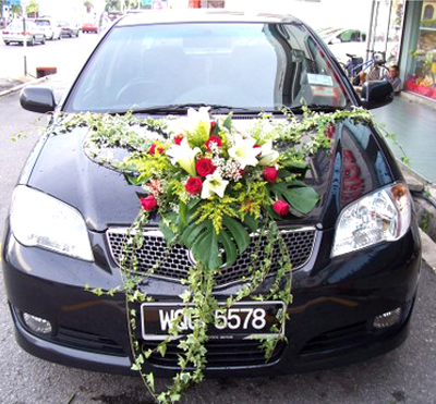 wedding cars decorations in india
