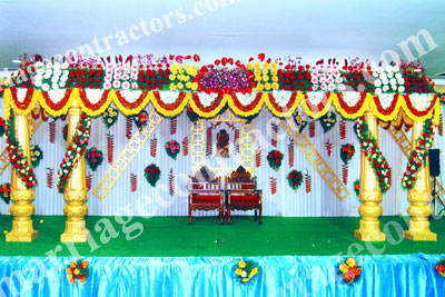 wedding stage decoration in bangalore