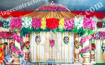 wedding stage decoration in india