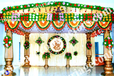 Wedding stage designers wedding stage decoration in for Different types of wedding decorations